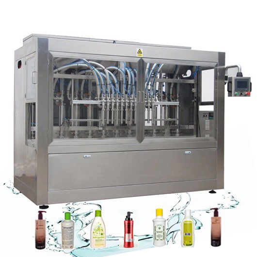 Corrosiebestendige automatische vloeistofvullijn Wasmiddel vulmachine