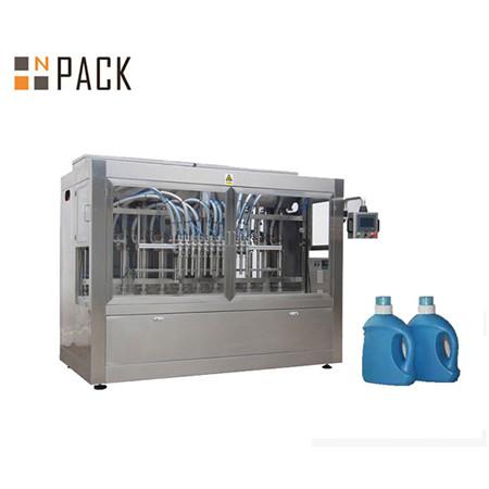 Automatische vloeibare wasmiddel douchegel fles vloeistof vulmachine