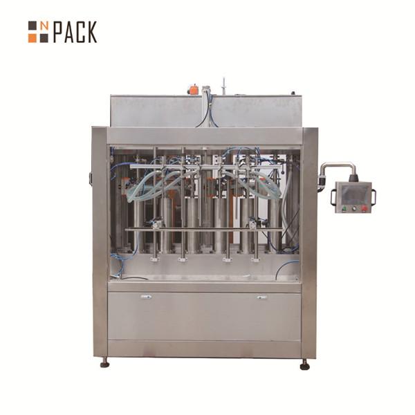 Pneumatische crème pasta vloeibare vulmachine voor het vullen van flessen